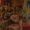 Akvarel Hermine Stiassni - salon